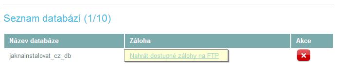 zaloha_db