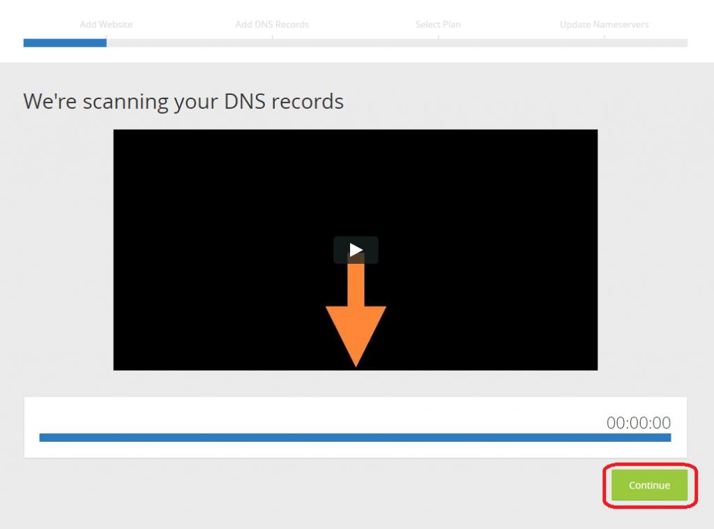 Cloudflare zjišťuje záznamy DNS